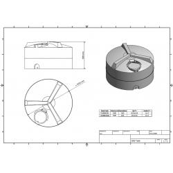 filtr o średnicy 20 cm x 12 cm głębokości