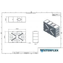 filtr o średnicy 15 cm x 20 cm głębokości